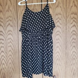 Elle Black Ruffle Dress